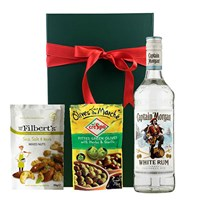 Captain Morgan White Rum Nibbles Hamper
