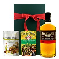Highland Park 18 year old Malt Nibbles Hamper