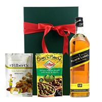 Johnnie Walker Black Label Nibbles Hamper