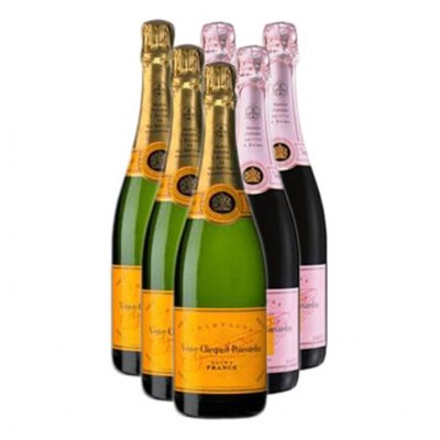 Buy & Send  Mixed Case of Veuve Clicquot (6x75cl)  Gift Online