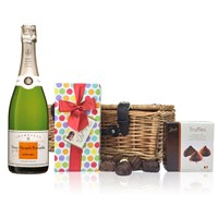 Veuve Clicquot Demi-Sec and Chocolates Hamper