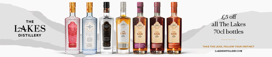 £5 off each bottle of Lakes Distillery Spirits