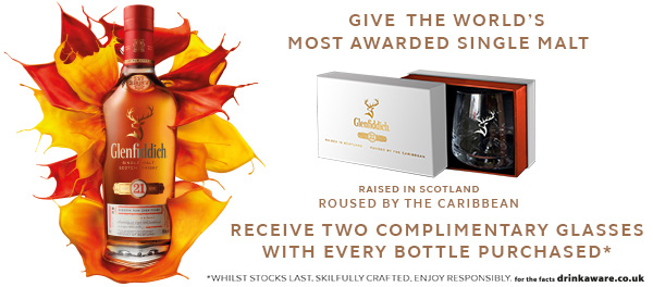 Glenfiddich 21yo gift offer