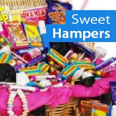 Buy Sweet hampers from Bottled and boxed