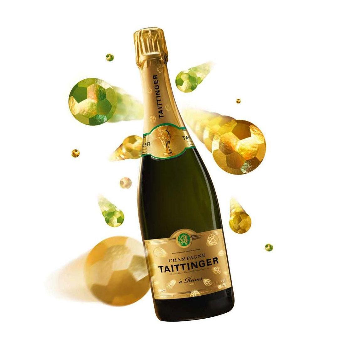 tattinger Champagne bottle