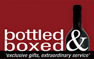Logo Bottled and boxed