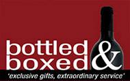 Logo Bottled and boxed