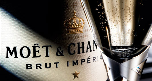 Moet and chandon Label