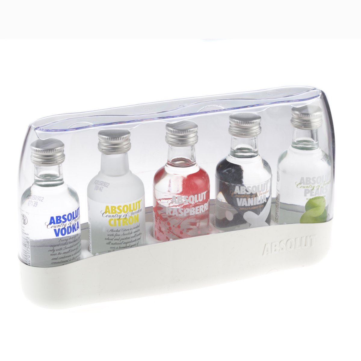 Send Absolut Fives Flavoured Vodka Miniature Gift Set