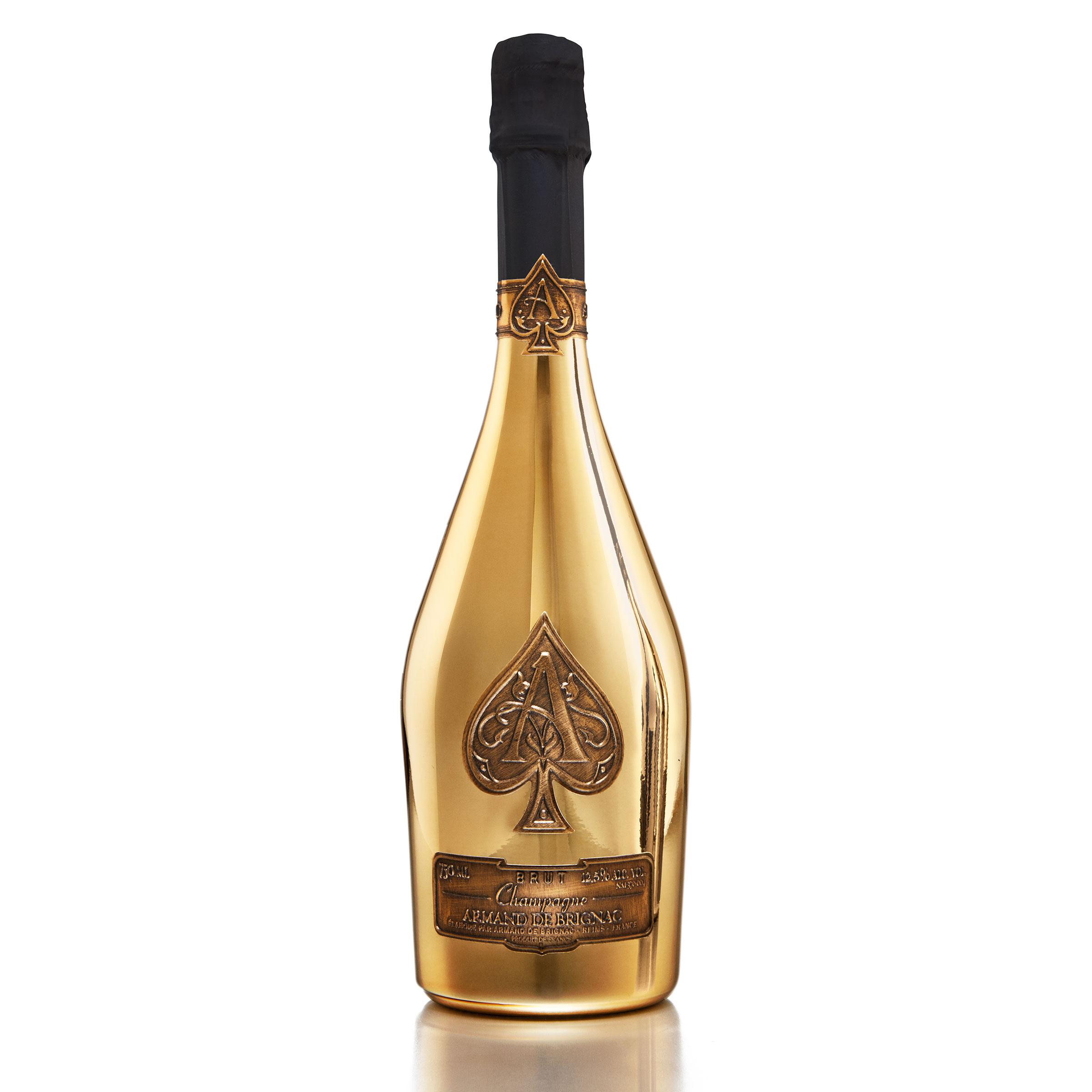 Send Armand De Brignac Brut Gold Champagne 75cl In Branded