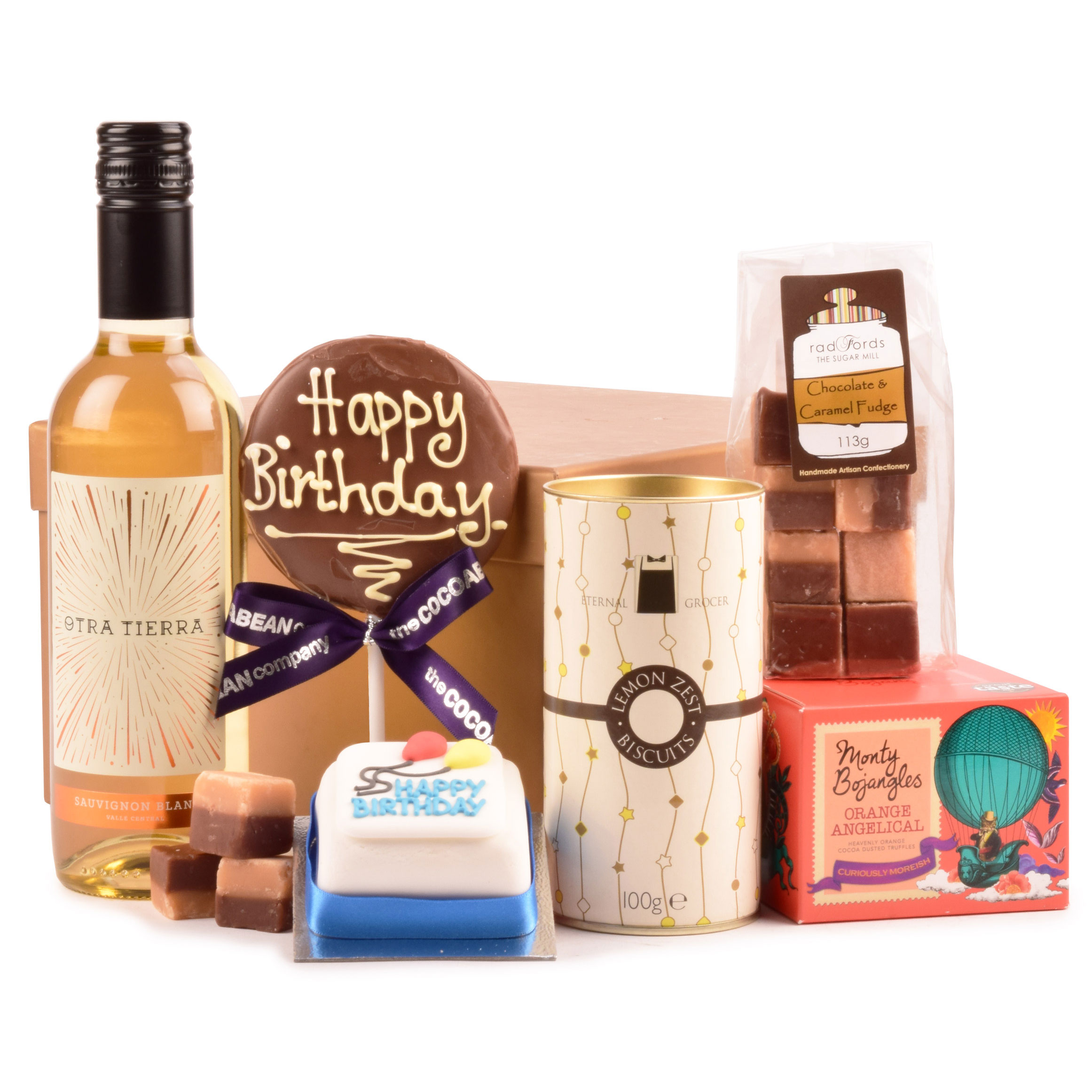 Buy Birthday Wishes Gift Box With Home Delivery