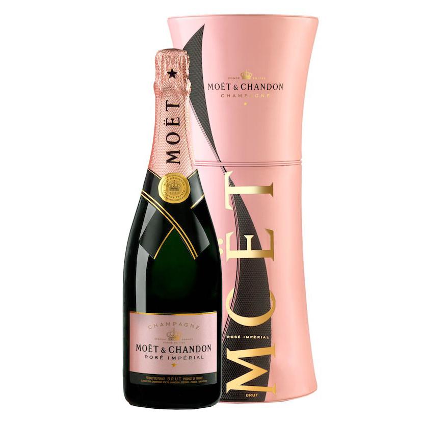 Buy & Send Moet and Chandon Rose Unfurl Gift Tin 75cl Online