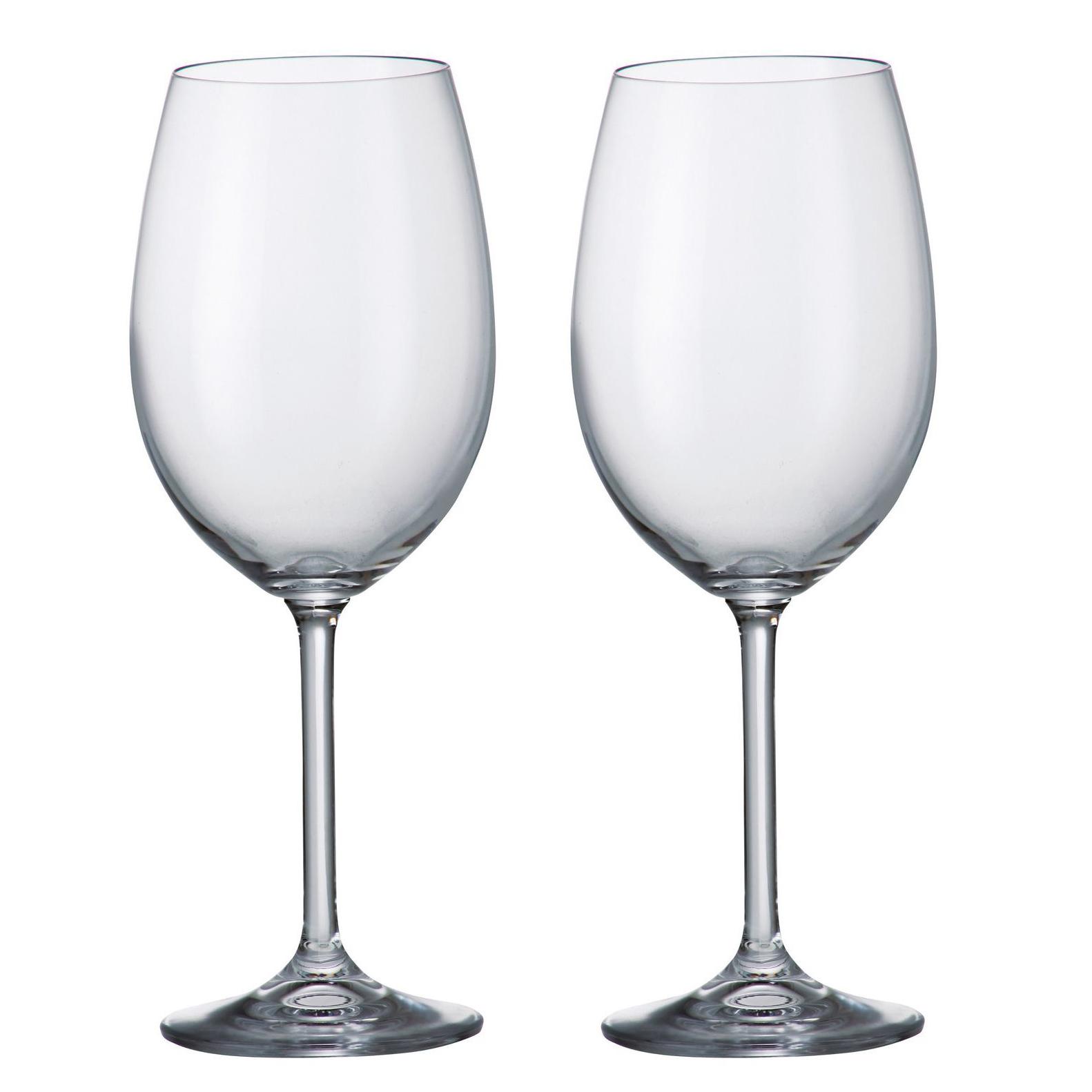 Buy Barbara Crystalite Bohemia Wine Glasses X 2