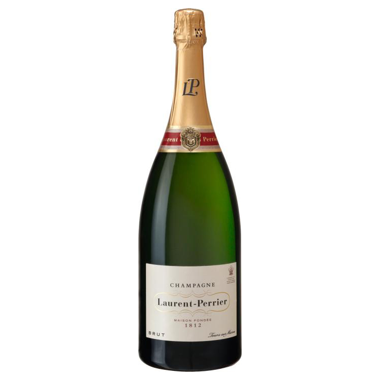 send magnum of laurent perrier brut 1 5l laurent perrier magnum champagne gift online. Black Bedroom Furniture Sets. Home Design Ideas