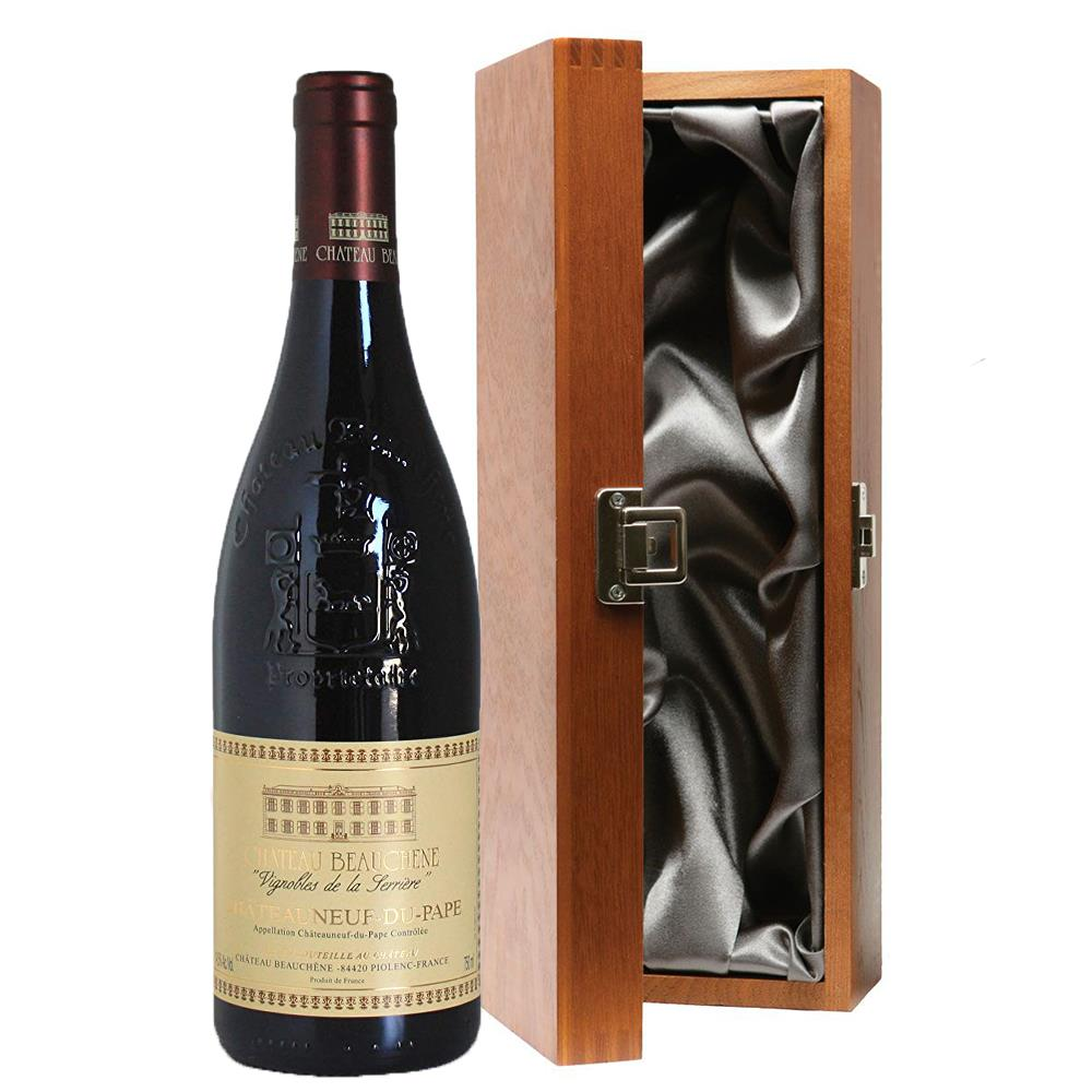 chateau beauchene chateauneuf du pape in luxury gift box. Black Bedroom Furniture Sets. Home Design Ideas