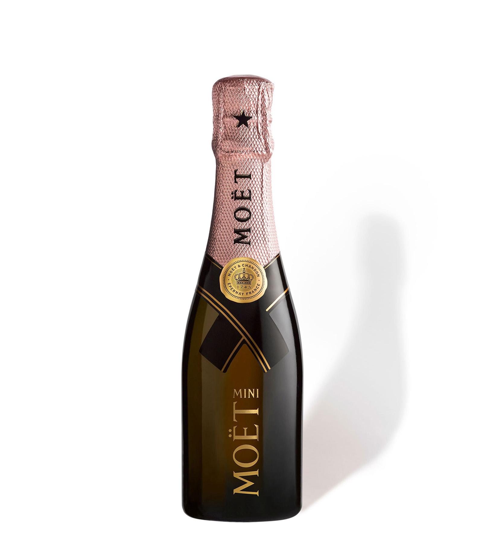 send mini moet chandon rose champagne 20cl online. Black Bedroom Furniture Sets. Home Design Ideas