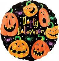Buy & Send Pumpkin Helium Balloon