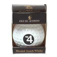 Buy & Send Old St Andrews Par 4 Golf Ball with Blended Scotch Whisky