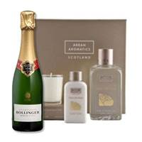Buy & Send After the Rain Bath Gift Box and Bollinger Special Cuvee 37.5cl Gift Set