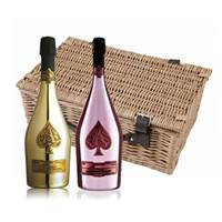 Buy & Send Armand de Brignac Gold and Rose Twin Hamper