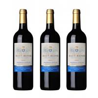 Buy & Send Chateau Haut-Badon Grand Cru Bordeaux Treble Set