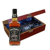 Buy & Send Jack Daniels In Luxury Box With Royal Scot Glass