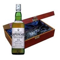 Buy & Send Laphroaig Whisky In Luxury Box With Royal Scot Glass