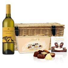 Buy & Send Afrikan Ridge Chenin Blanc And Heart Chocolates Hamper