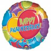Buy & Send Happy Anniversary Helium Balloon