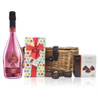 Buy & Send Armand de Brignac Rose And Chocolates Hamper