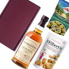 Buy & Send Balvenie 12 Year Old DoubleWood Whisky Nibbles Hamper