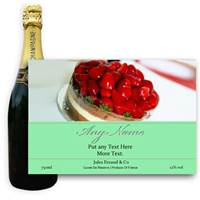 Buy & Send Jules Feraud Brut With Personalised Champagne Label Birthday Cake