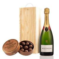 Buy & Send Bollinger Brut & Milk Charbonnel Chocolates Box