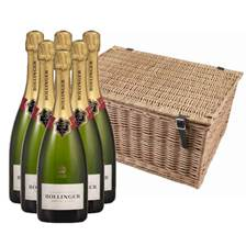 Buy & Send Bollinger Special Cuvee Case In a Hamper (6x75cl)