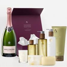 Buy & Send Bollinger Rose NV 75cl And Aromatherapy Gift Box