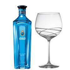 Buy & Send Bombay Sapphire Star of Bombay 70cl And Single Gin and Tonic Skye Copa Glass