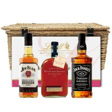 Buy & Send Bourbon Whisky Family Hamper With Chocolates