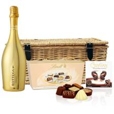 Buy & Send Bottega Gold Prosecco 75cl And Heart Chocolates Hamper