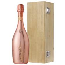 Buy & Send Bottega Gold Rose Sparkling Prosecco 75cl in Luxury Oak Box