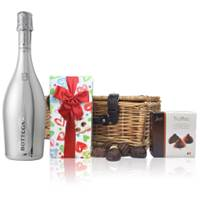 Buy & Send Bottega White Gold Pinot Nero Spumante Brut And Chocolates Hamper