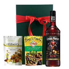 Buy & Send Captain Morgan Origninal Nibbles Hamper