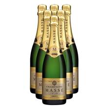 Buy & Send Masse Brut Champagne Case (6x75cl)