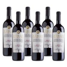 Buy & Send Case of 6 Torre dei Vescovi Merlot Wine