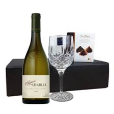 Buy & Send Chablis Elegance, Flute And Chocolate Gift box