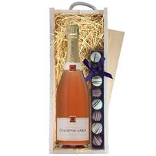 Buy & Send Chassenay d'Arce Rose Champagne & Truffles, Wooden Box