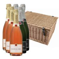 Buy & Send Chassenay d'Arce Brut and Rose Case In a Hamper (6x75cl)