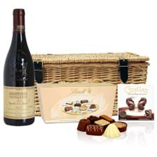 Buy & Send Chateau Beauchene Chateauneuf du pape And Valentines Chocolates Hamper