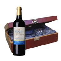 Buy & Send Chateau Haut-Badon Grand Cru Bordeaux - St Emilion - France In Luxury Box With Royal Scot Wine Glass