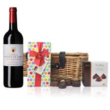 Buy & Send Chateau La Croix de Cabut Bordeaux - France And Chocolates Hamper