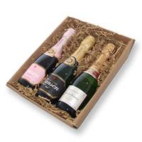Buy & Send Mini Champagne Tray With Laurent-Perrier, Lanson and Lanson Rose